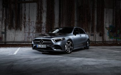 Mercedes-AMG, A-Klasse, A35, Ulm, Blitz, Kunstlicht, Photoshop, Fotograf, Presse, Socialmedia
