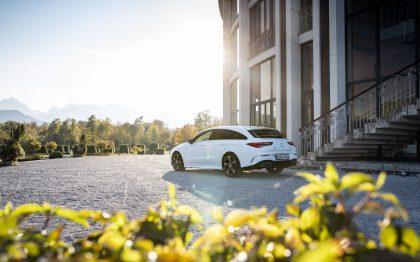 Mercedes-Benz, CLA, Festspielhaus, Füssen, Autofotograf, Bokeh, Socialmedia, Shooting Brake