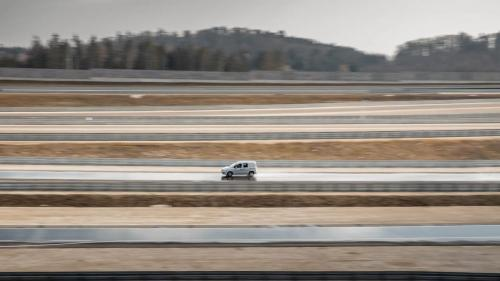 Mercedes Citan Eventbegleitung Teststrecke Immendingen