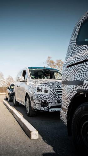 Mercedes Citan Eventbegleitung Teststrecke Parken Autonomes Fahren