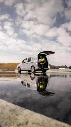 Mercedes Citan Ingenieur Eventbegleitung Teststrecke